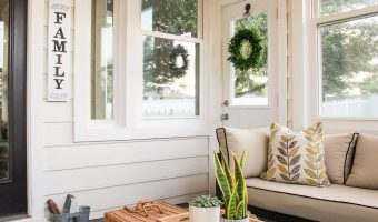 sunroom makeover reveal
