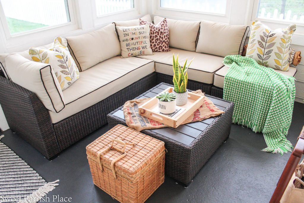 Ashley furniture outdoor sectional
