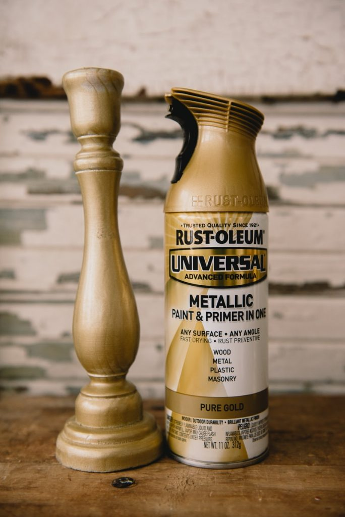 Rustoleum pure gold spray paint